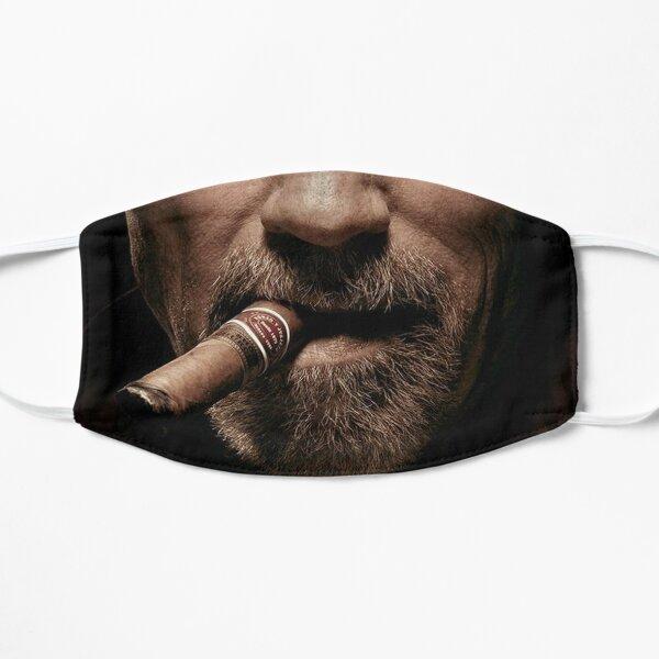 Arnie Cigar Face Mask Flat Mask