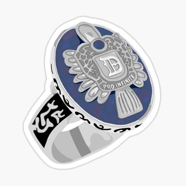 Daylight Ring  Sticker