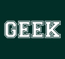 Green College GEEK Tee | Unisex T-Shirt
