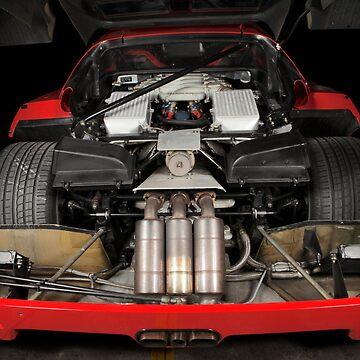 Ferrari F 40 LM Michelotto by StefanBau