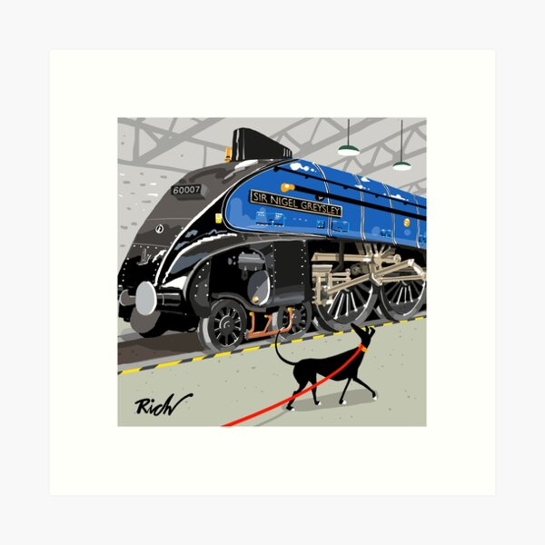 Sir Nigel Greysley Art Print