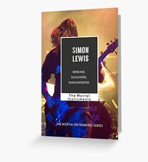 Simon Lewis  Greeting Card