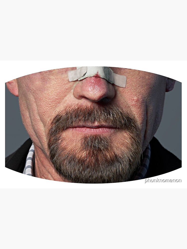 All Our Masks Are Pre-Cut! Breaking Bad Walter White Celebrity Card Mask