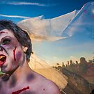 Brighton Zombie Walk - Beach of the Dead by Heather Buckley
