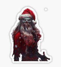 Zanta Claws - Zombie Santa Sticker