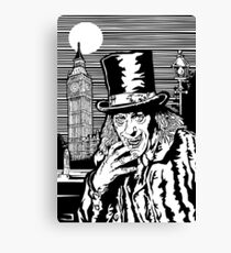 London After Midnight Canvas Print