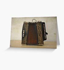 Accordion Texturized Greeting Card