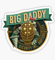 BigDaddy Security   Sticker