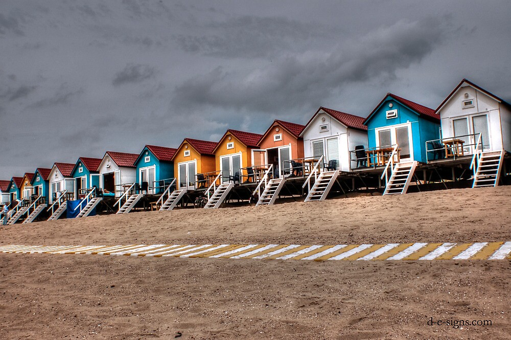 HUTS II by RED-RABBIT