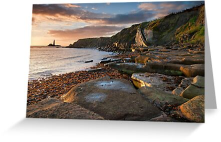 sunrise at old hartley by paul mcgreevy