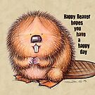Happy Beaver by Sonya Craig