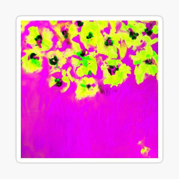 Habibiflo rosa Sticker