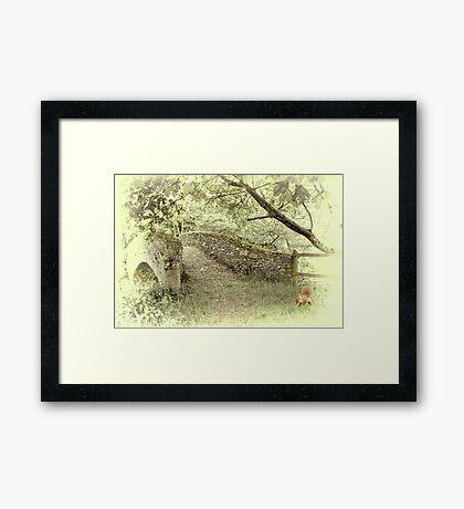 Beckford Bridge Framed Print