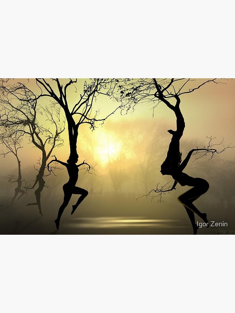 Dancing Trees by izenin