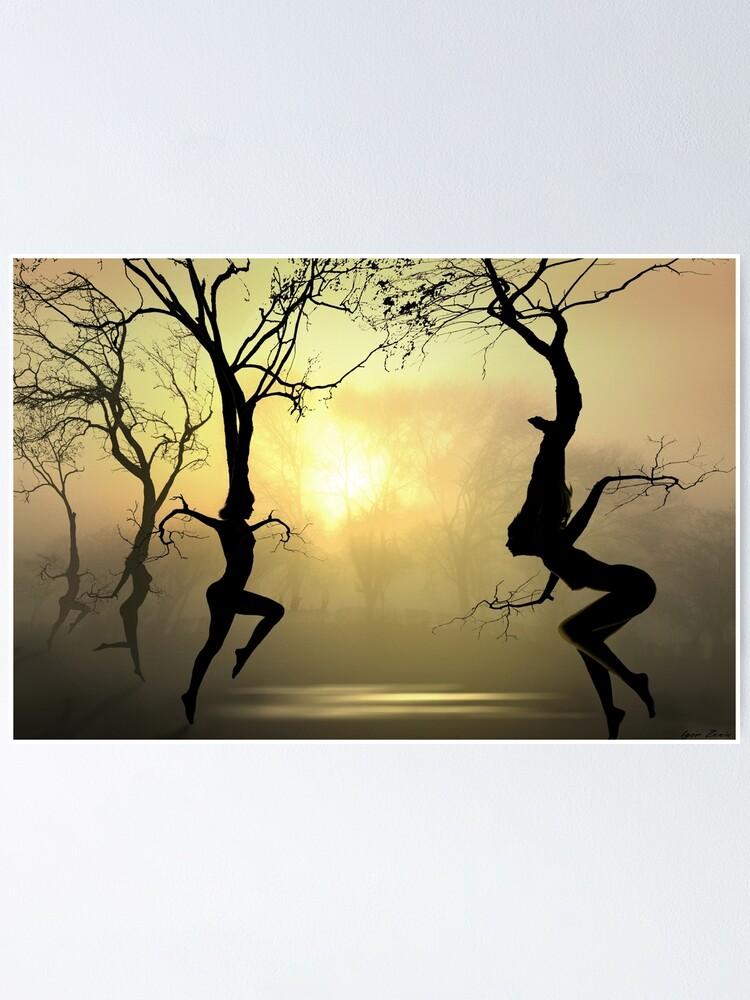 Alternate view of Dancing Trees Poster