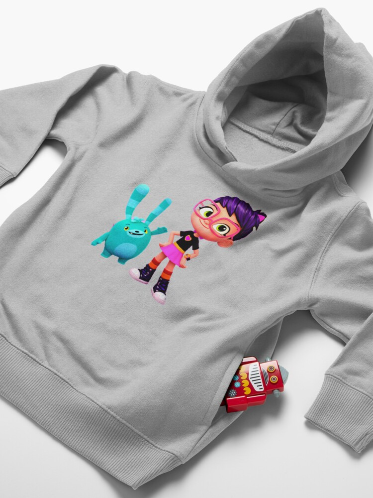 Alternate view of Abby Hatcher characters Toddler Pullover Hoodie