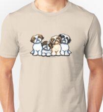 Four Shih Tzu Unisex T-Shirt