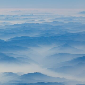 Misty Mountains by JeffClark