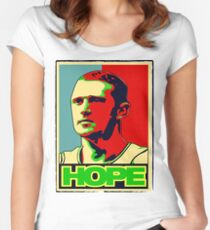 BRIAN SCALABRINE-HOPE Women's Fitted Scoop T-Shirt