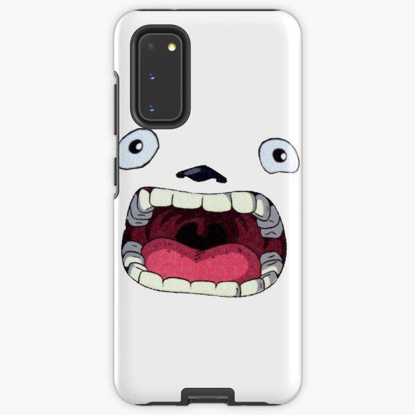 Ghibli Studio - Totoro Mouth Samsung Galaxy Tough Case