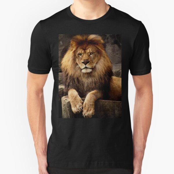 Heart of a lion Slim Fit T-Shirt