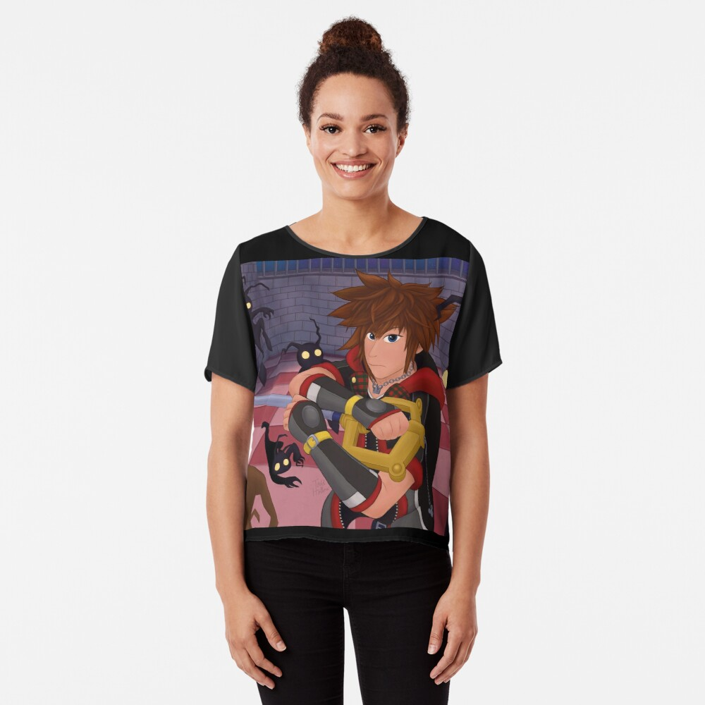 Heartless Battle Chiffon Top