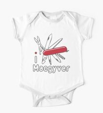 I LOVE MACGYVER T-shirt Kids Clothes