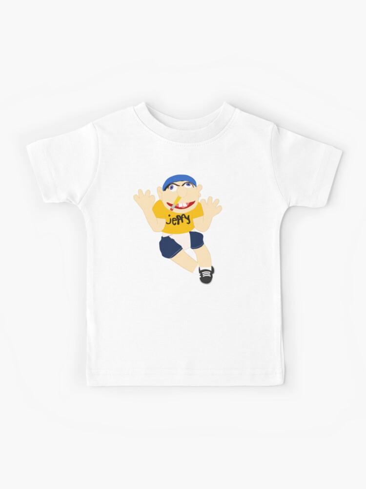 Jeffy Puppet Children/' Boys Girls Kids T-Shirt Youtuber Funny Cool Gift Present