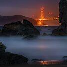 Golden Gate on the Rocks by MattGranz