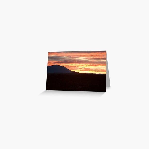 Cairngorm Sunrise Greeting Card