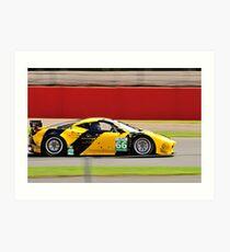 JMW Motorsport Ferrari No 66 Art Print