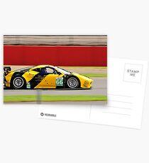 JMW Motorsport Ferrari No 66 Postcards