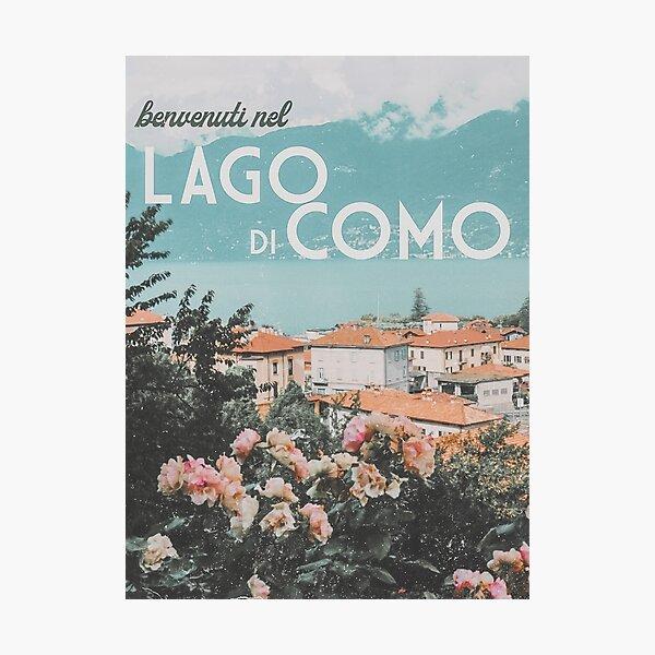 LAKE COMO PRINT Photographic Print