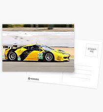 Ferrari 458 No 66 Postcards