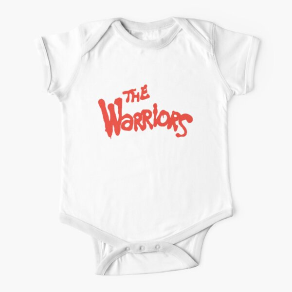 Warriors Come Out to Play  Short Sleeve Baby One-Piece