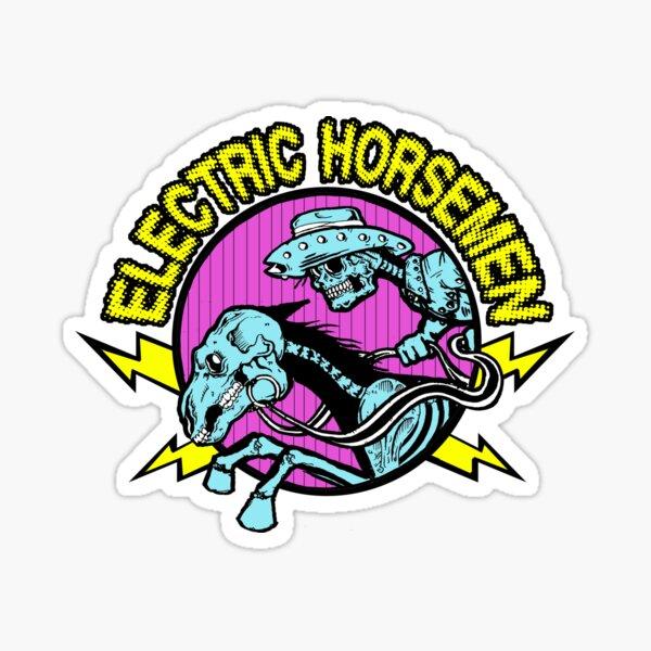 Electric Horsemen Logo Sticker