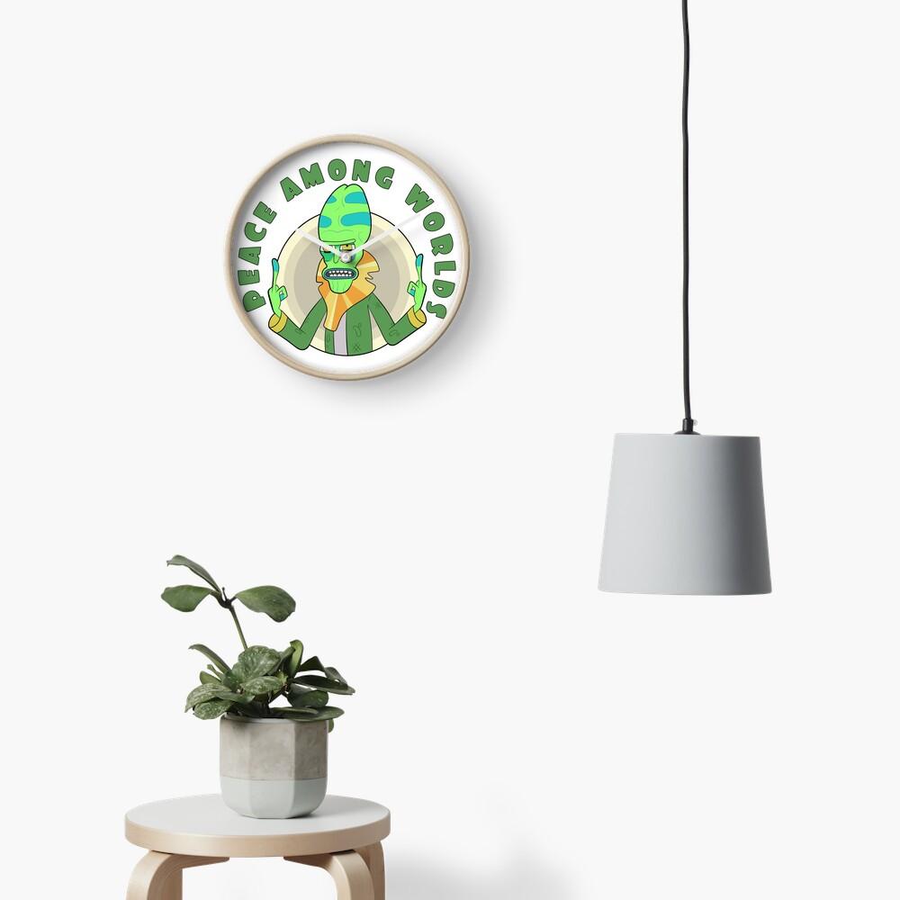 Peace Among Worlds - Zeep Xanflorp Clock