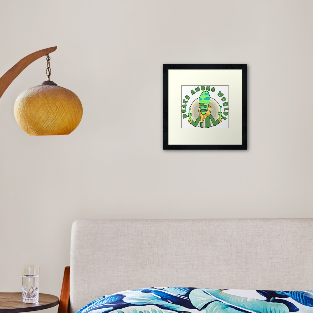 Peace Among Worlds - Zeep Xanflorp Framed Art Print