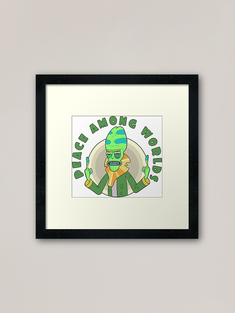 Alternate view of Peace Among Worlds - Zeep Xanflorp Framed Art Print