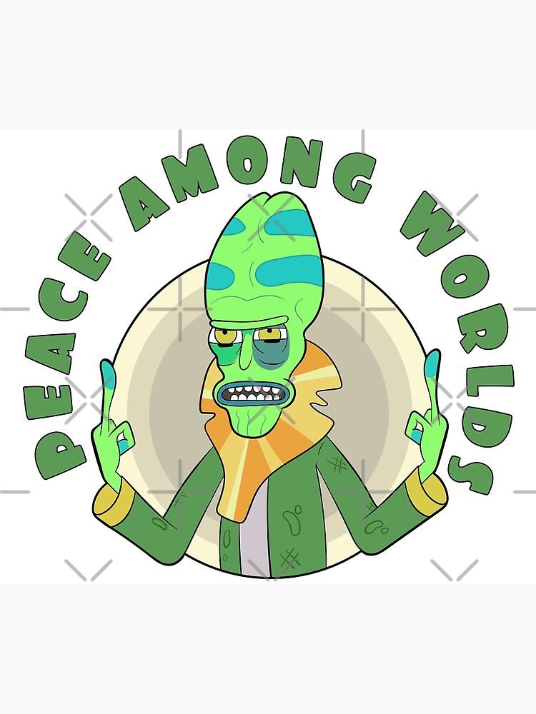 Peace Among Worlds - Zeep Xanflorp by Solarplex