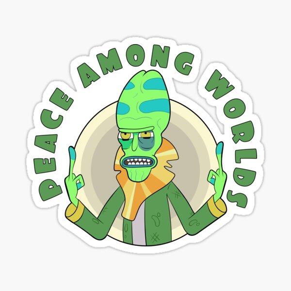 Peace Among Worlds - Zeep Xanflorp Sticker
