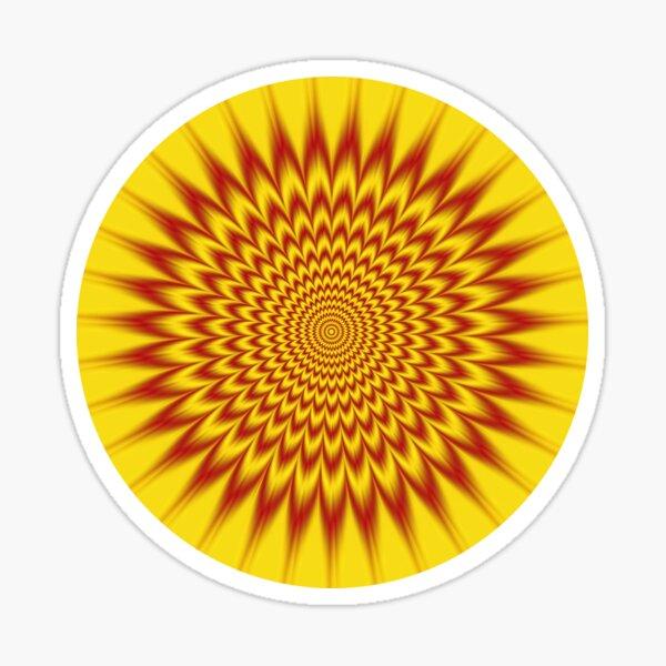 HYPNOTIC VIBES Sticker