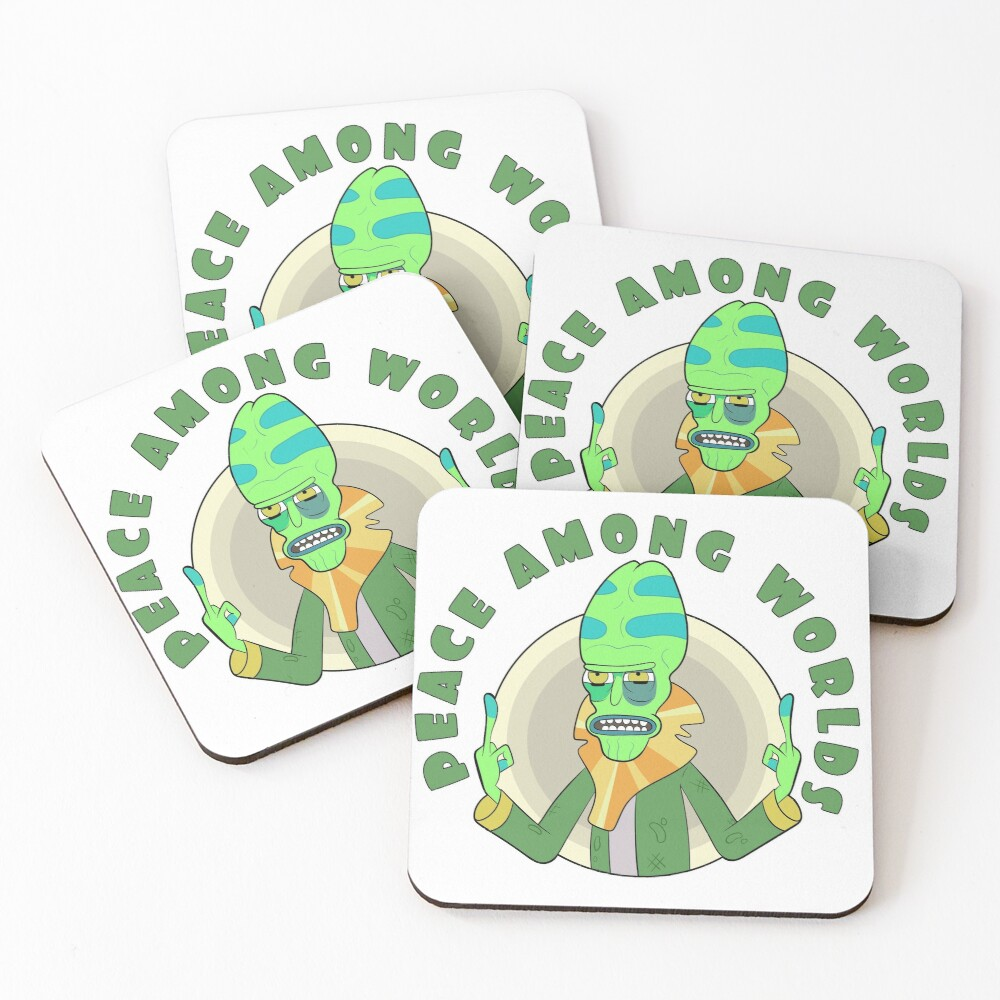 Peace Among Worlds - Zeep Xanflorp Coasters (Set of 4)