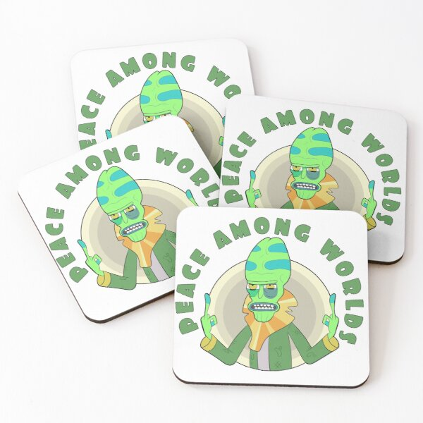Peace Among Worlds - Zeep Xanflorp Coasters (Set of 4)