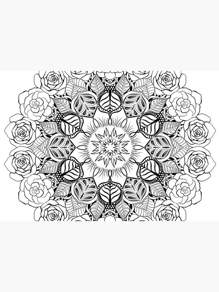 Nature Mandala by Kristina-Thalin