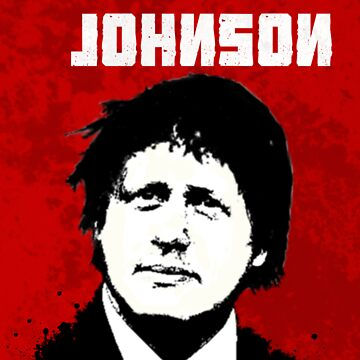 Boris Johnson / Che Guevara Black Hair by Carlosthellama