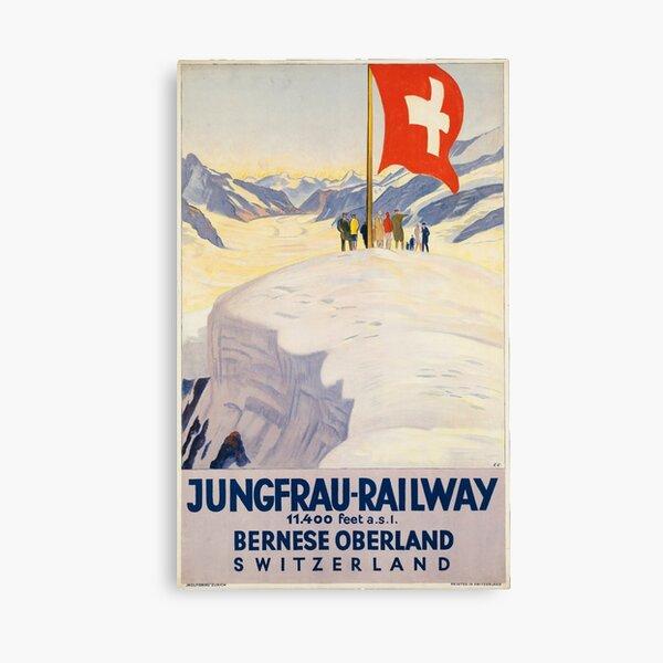 Vintage poster - Switzerland Canvas Print