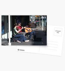 Belfast Street Musicians Postcards