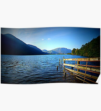 Buttermere, Lake District National Park. Poster