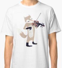 FOXY VIOLINIST Classic T-Shirt
